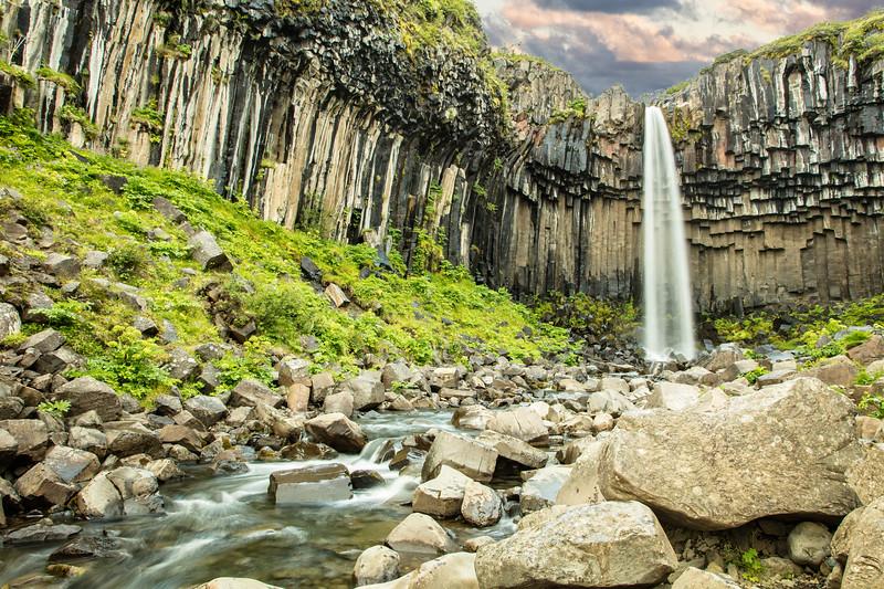 Svartifoss Falls