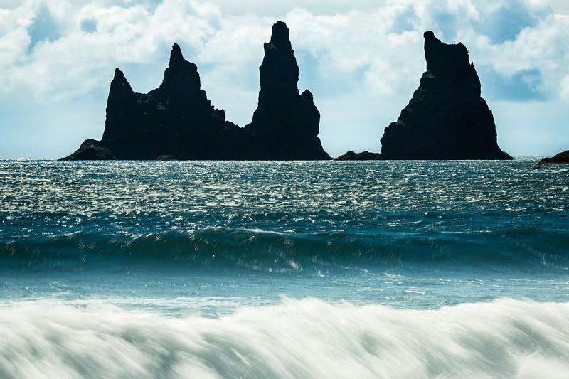 Sea stacks by Vik