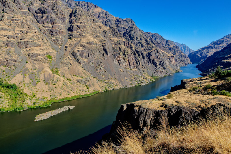You can see why the canyon earned its name -- Hells Canyon