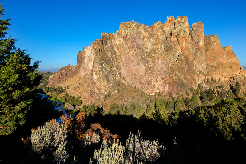 And this is Smith Rock with the Crooked River flowing around it