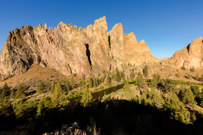 Smith Rock State Park is a popular place for world-class rock climbing
