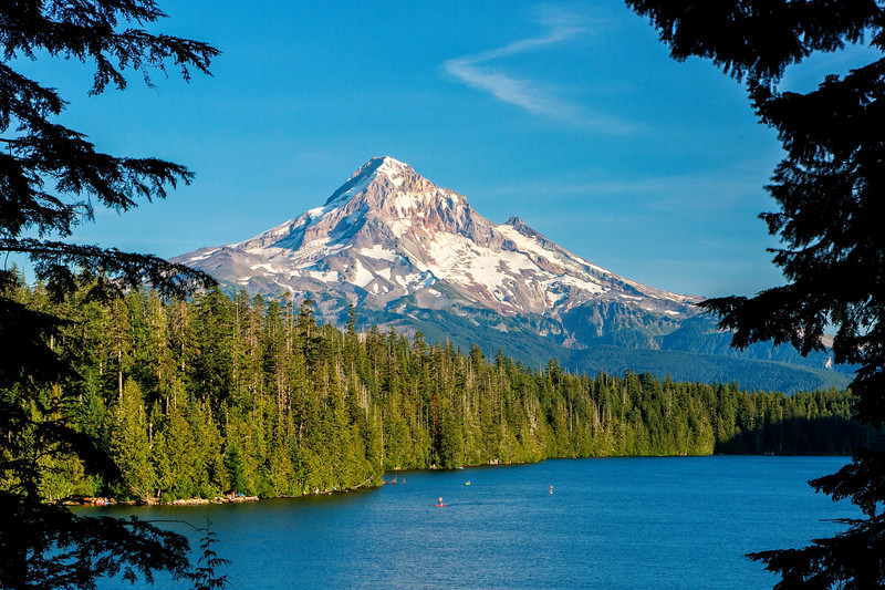 We heard the view of Mt. Hood from Lost Lake was special and we weren't disappointed.