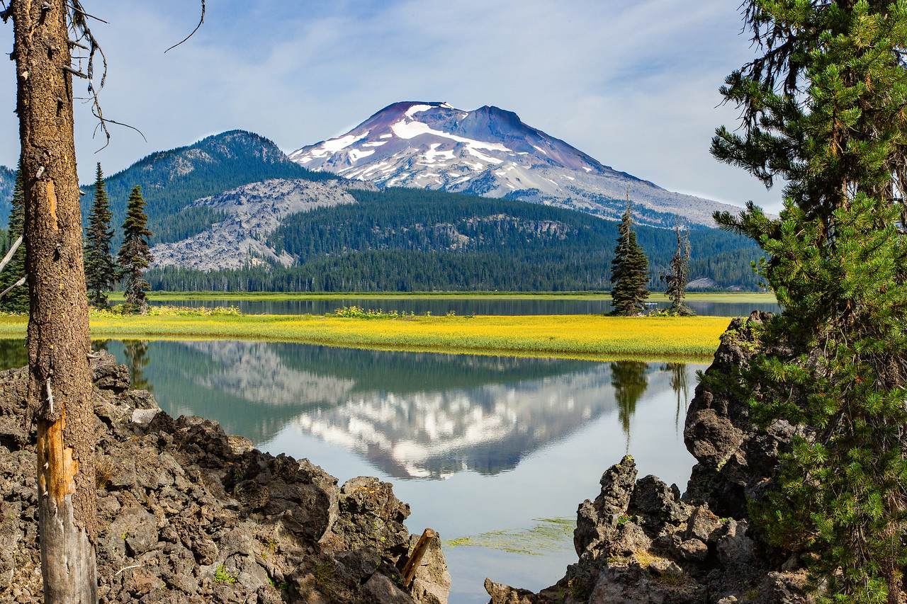 Another view of Sparks Lake