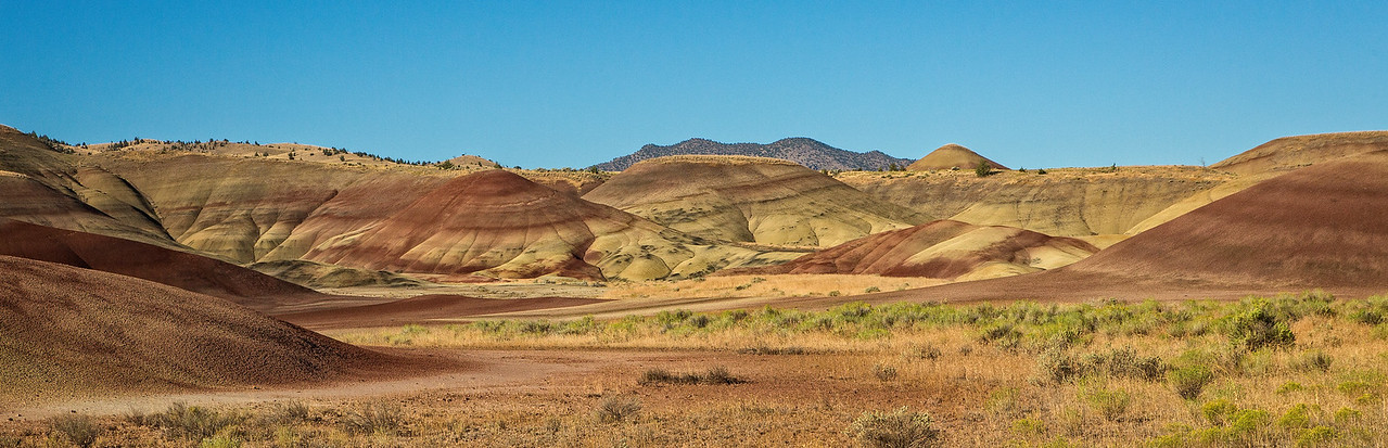 Another view of the Painted Hills