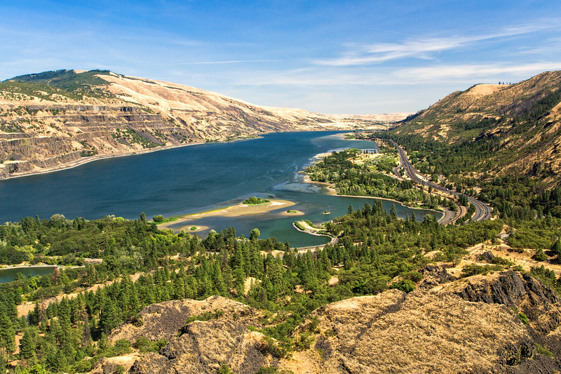 Another view of the Columbia River Gorge