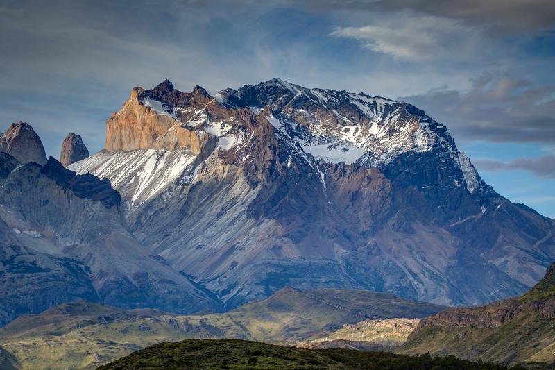 This is a closer view of Monte Alvirante Nieto.