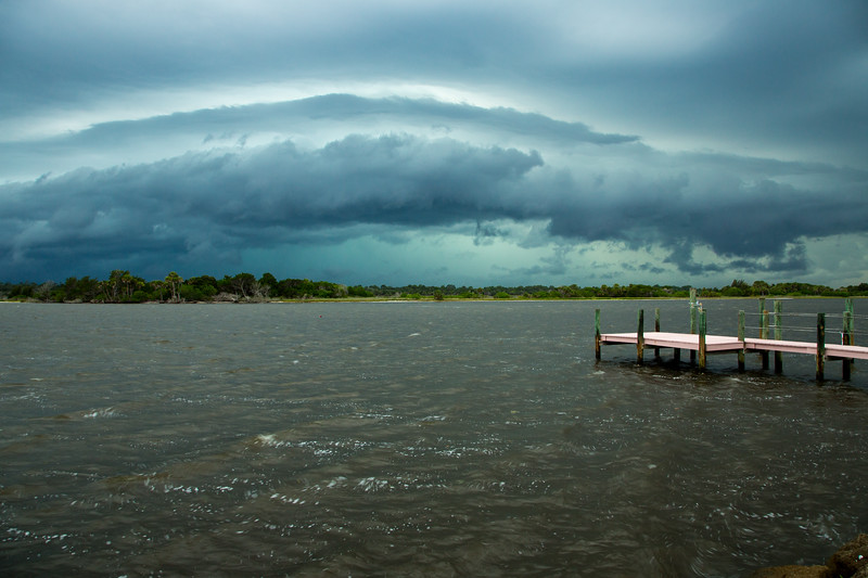 Storm approaching over the Intracoastal