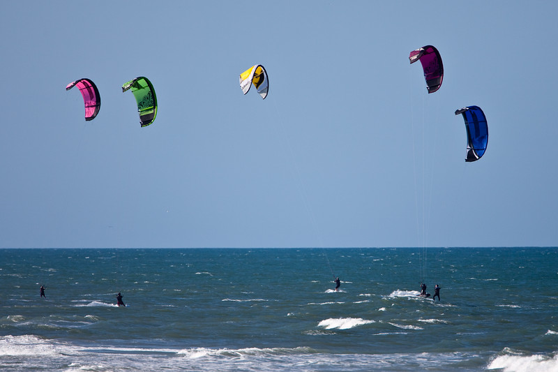 Windsurfing party