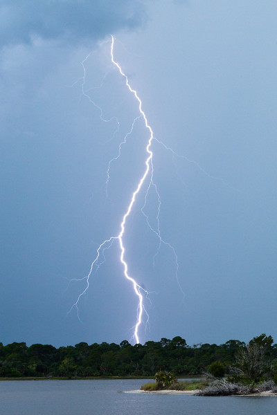 Lightning as seen from our dock