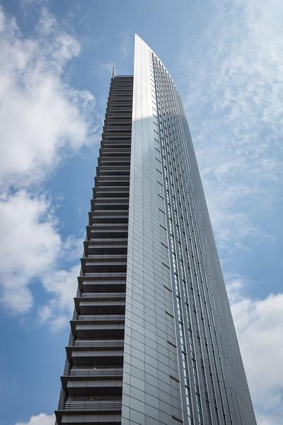 Another modern buildings in Frankfurt.