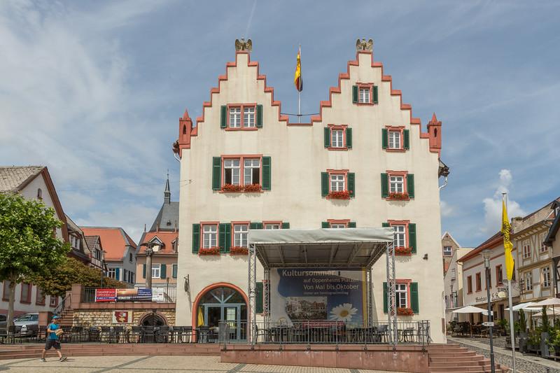 Classic German architecture.