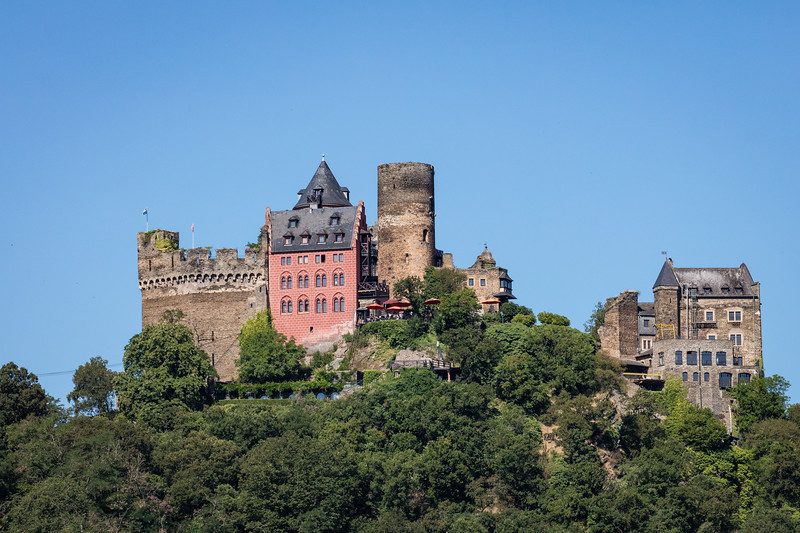 Schoenburg Castle, now a hotel, as many castles are today  to pay for their upkeep.