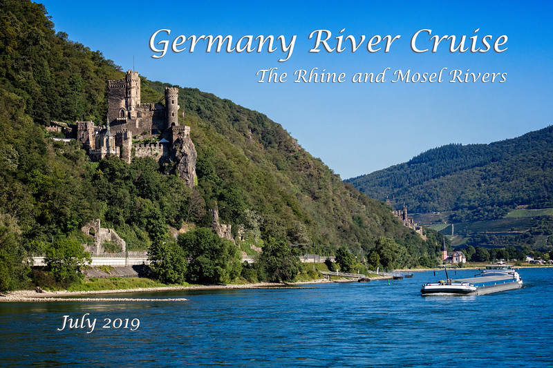 Cruising the Rhine looking at the Rheinstein Castle