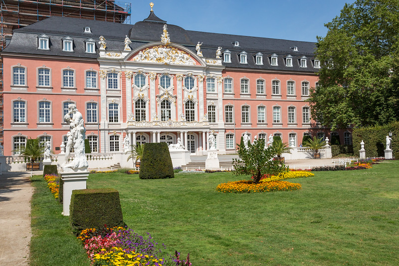 Kurfurstliches Palace, now a government office, in Trier.