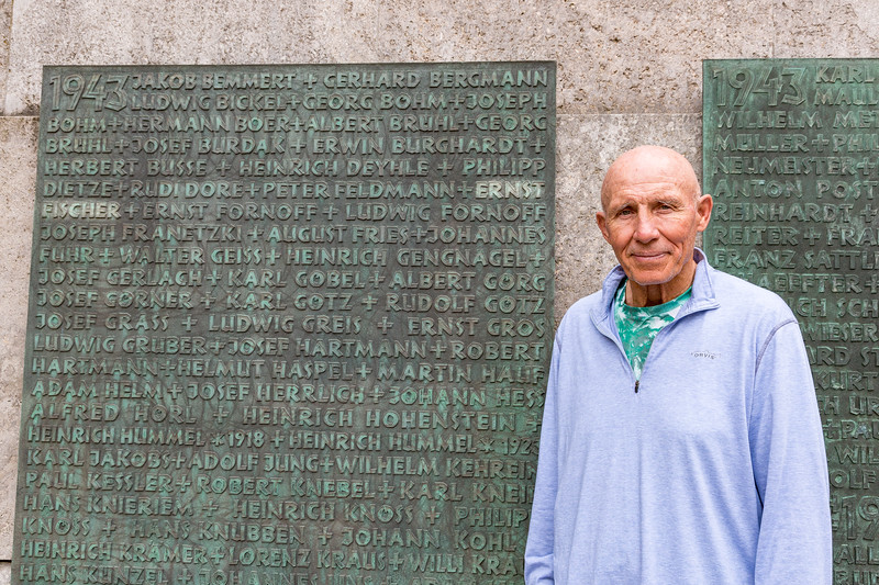 My father, Ernst Fischer, listed among the fallen Rüsselsheim soldiers who were killed in WWII.