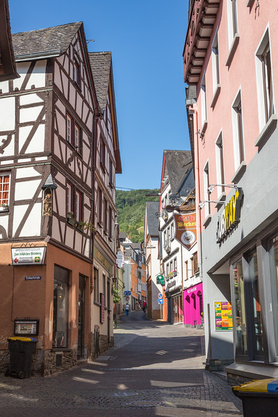The quaint streets of Cochem.