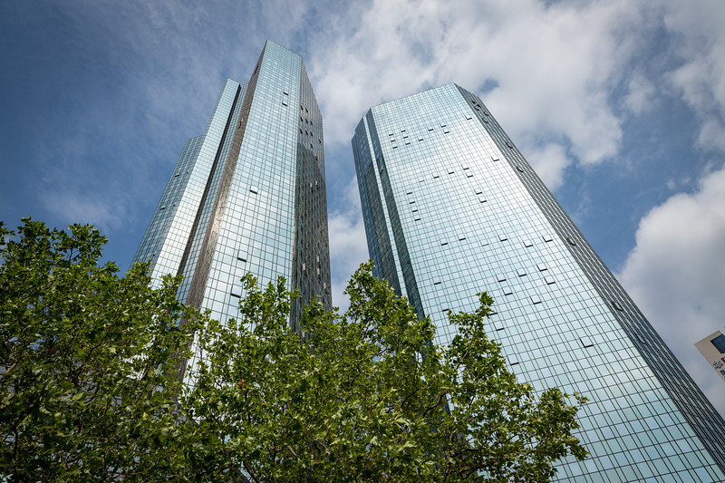 Frankfurt is a major financial center for Europe.