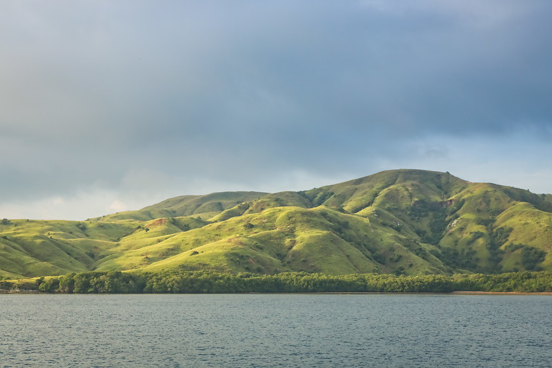 As we traveled around the Flores area we saw many beautiful islands like this one.