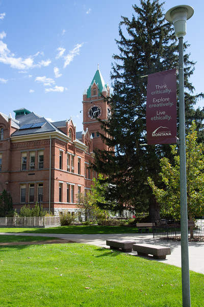 """Called """"Old Main,"""" the primary administration building on campus."""