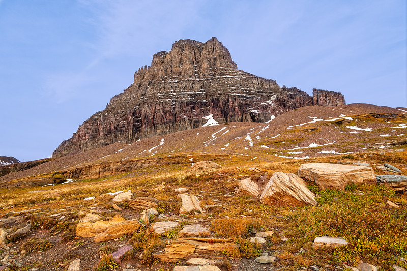 Mount Oberlin at Logan Pass.