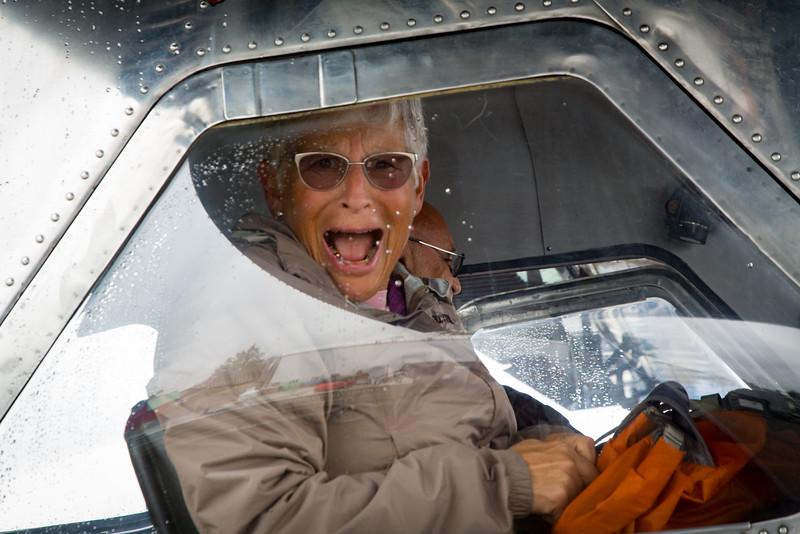Back seat pilot terrorized