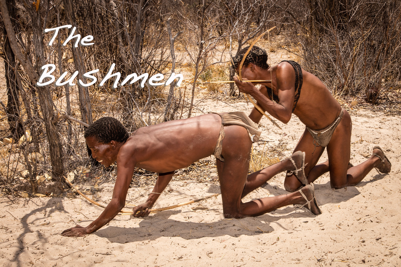 We spent an informative and entertaining day with the friendly, happy Bushmen