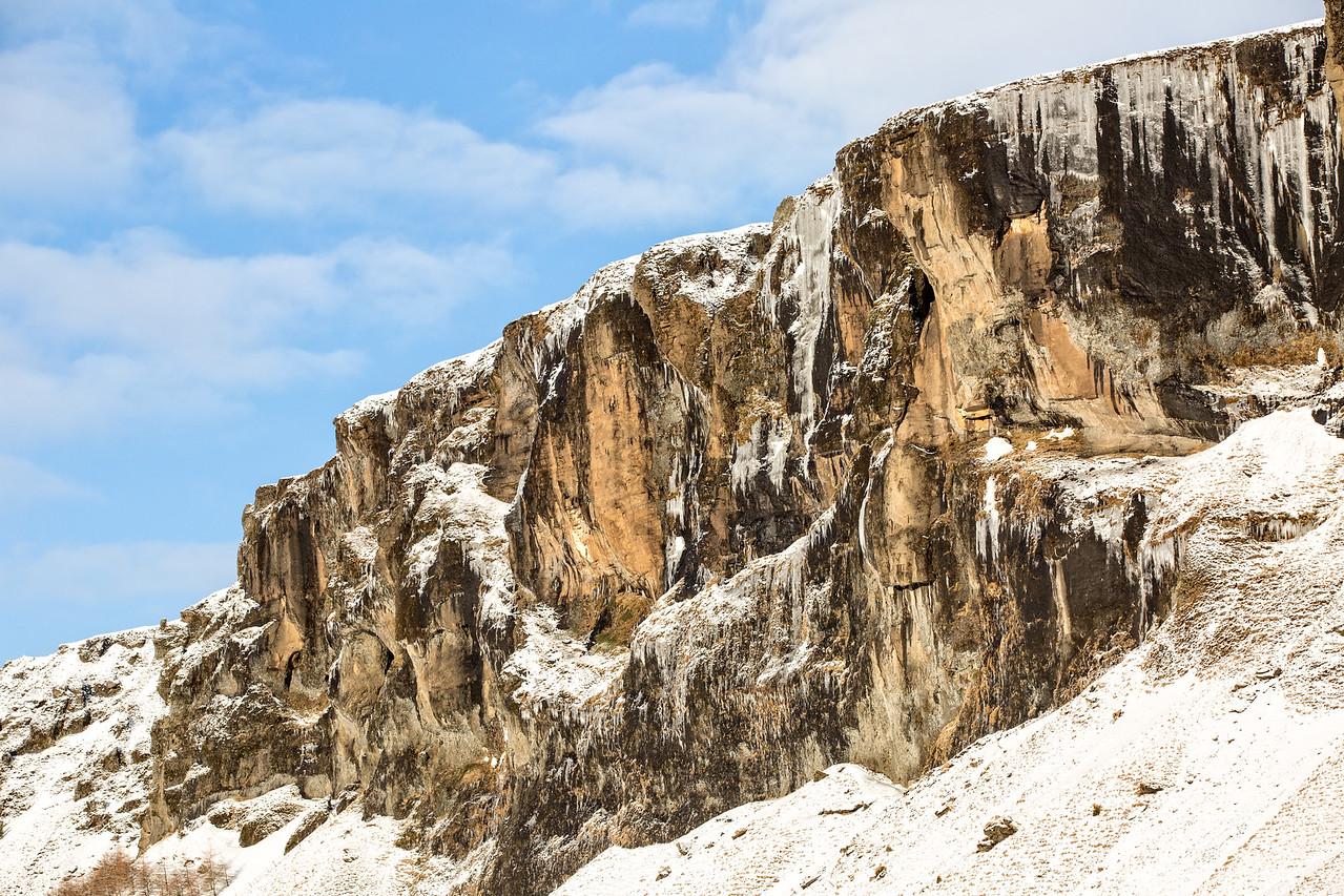 Cliffs nearby