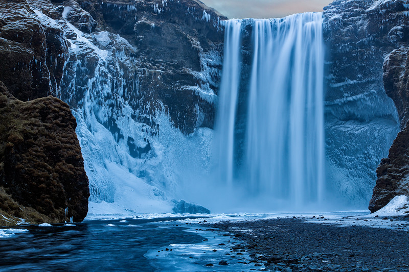Skogarfoss Waterfall