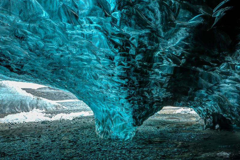 Breidamerkurjokull Ice Cave