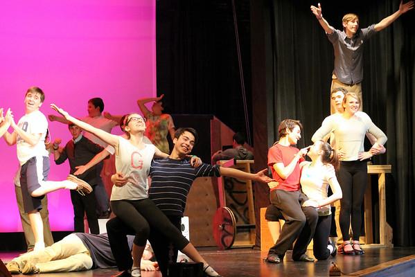 Spamalot Rehearsals!