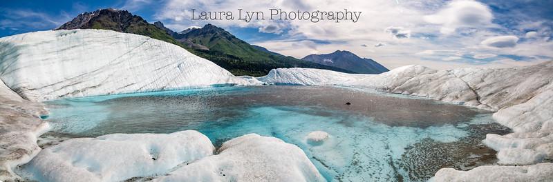 Taken on Root Glacier in June 2015