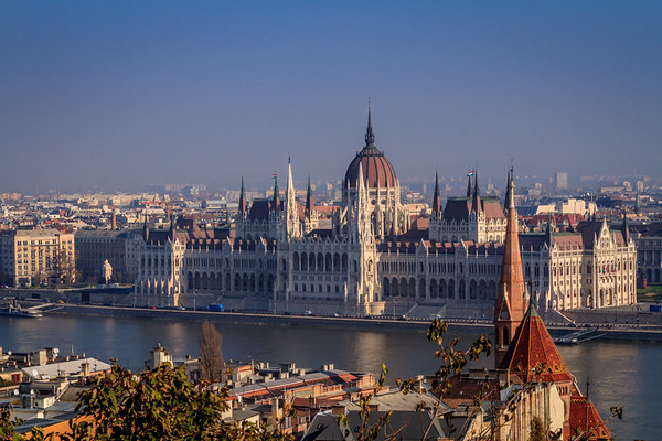 Headquarters of the Hungarian Parliament