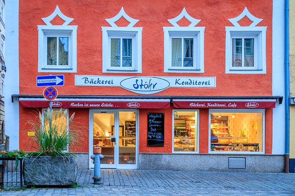 This bakery and coffee shop in Vilshofen, Germany