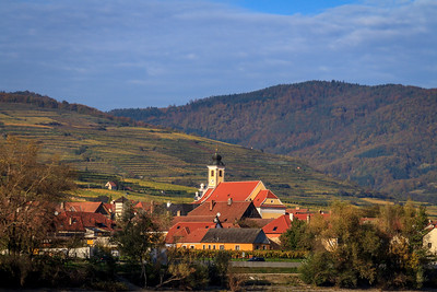A village in the Wachau Valley