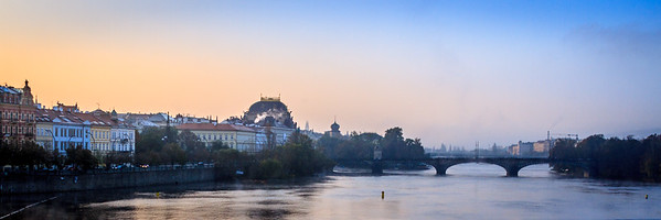 Prague, along the Vltava River