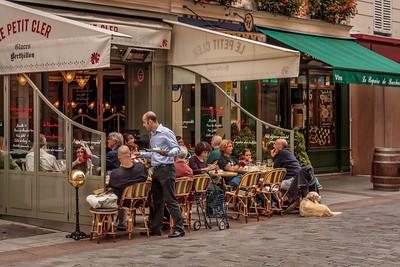 Restaurant on Rue Cler