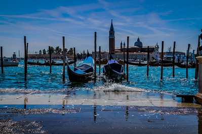 San Georgio, Venice, across the Grand Canal