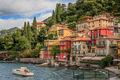 The town of Varenna