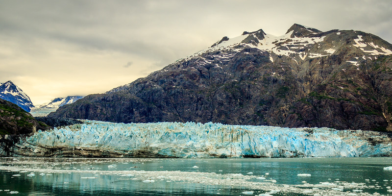 The still advancing Margerie Glacier