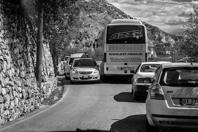Italy's Amalfi Coast road is well known for this kind of driving fun.