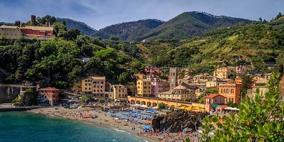 Monterosso's Old Town in the afternoon