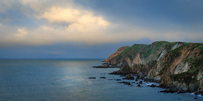 Cloudy morning at Point Reyes Headlands