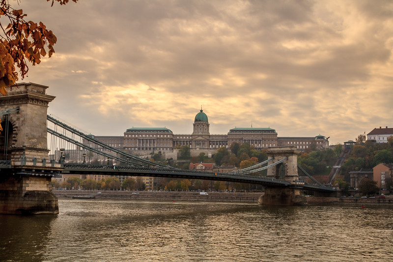 A bridge across the Danube