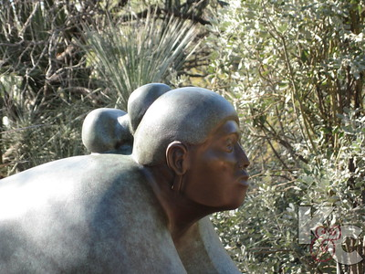 Allan Houser Sculpture at Desert Botanical Garden