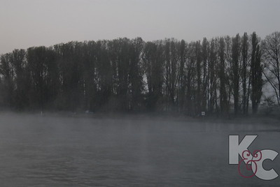Mist on The Rhine Near Coblenz