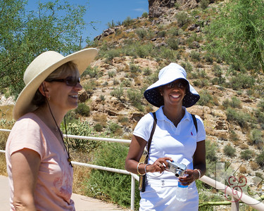 Kathy & Sabrina at Apache Trail
