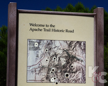 Apache Trail Sign