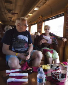 On the Verde Canyon Train