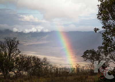 Ngorongoro Crater Rainbow