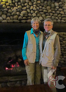 Kathy & Candy Suited up for Safari